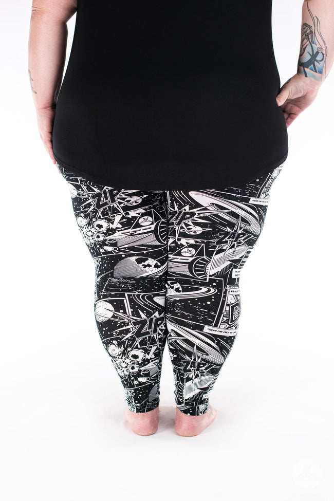 Cosmic Comic Plus2 leggings - SweetLegs