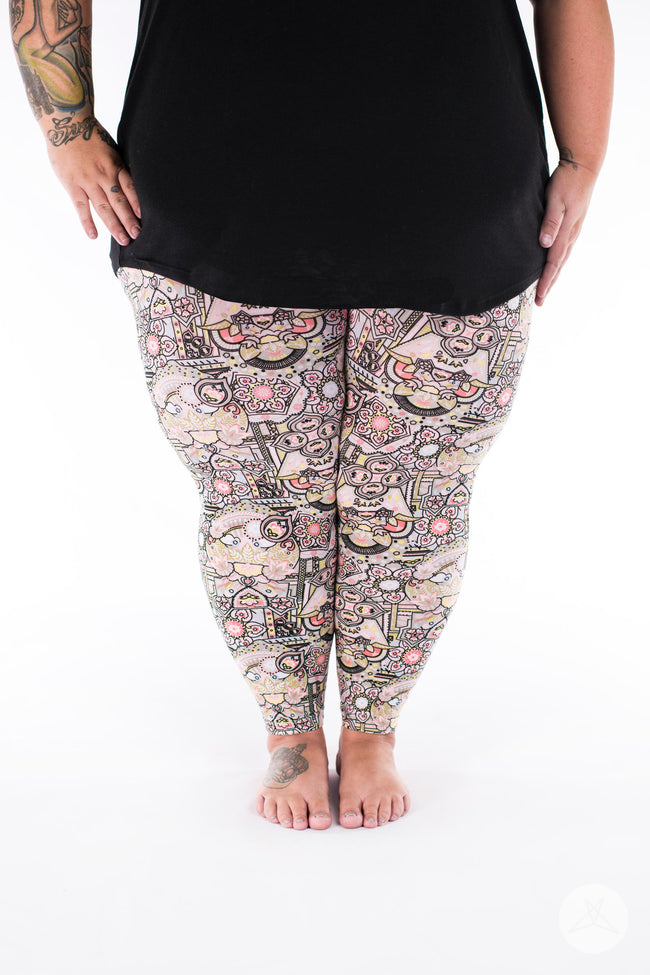 Crown Jewels Plus2 leggings - SweetLegs