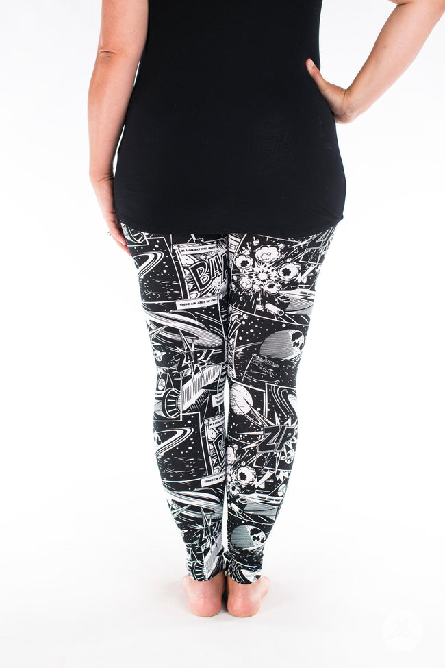 Cosmic Comic leggings - SweetLegs