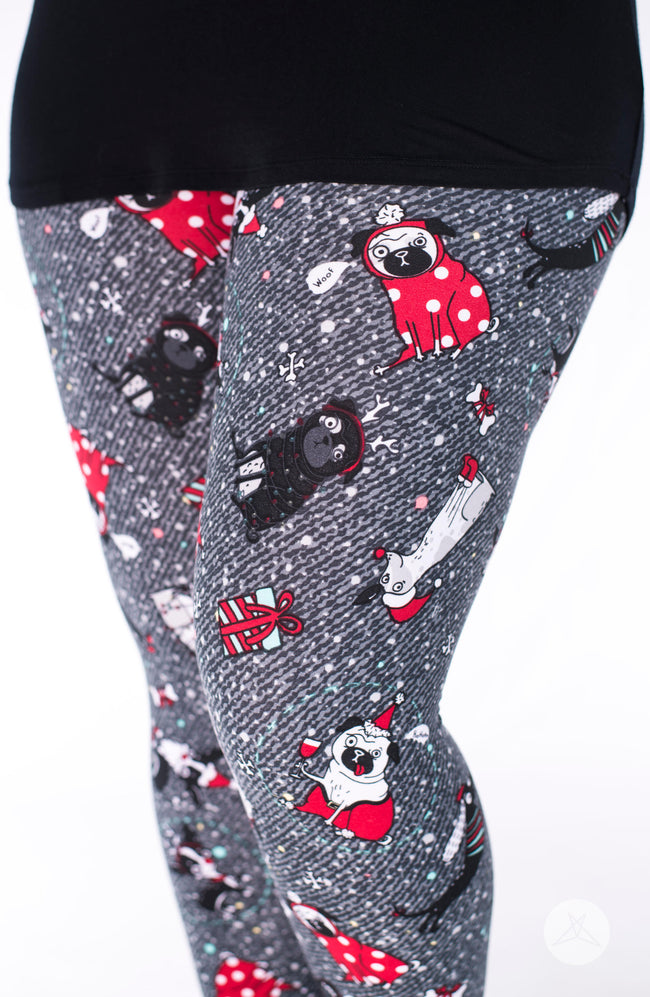 Santa Paws leggings - SweetLegs