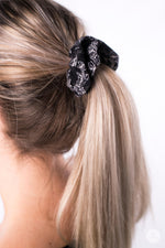 White Fern Scrunchie