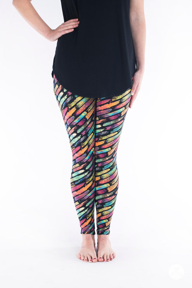 True Colours Petite leggings - SweetLegs