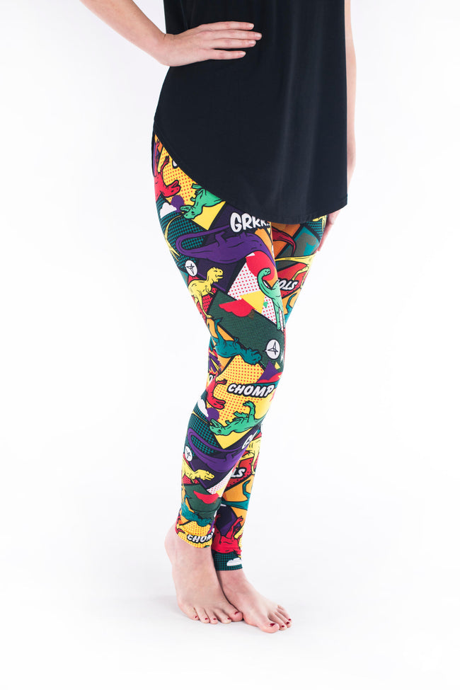 Prehistoric Punch Petite leggings - SweetLegs