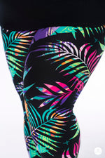 Palms Away! Plus leggings - SweetLegs