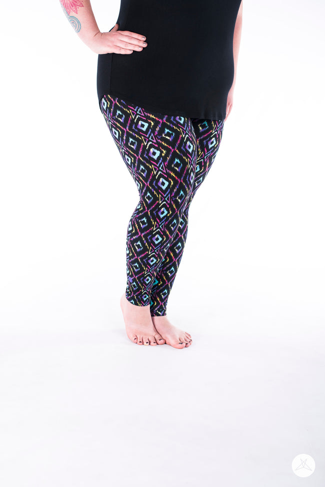 Bombshell Plus leggings - SweetLegs