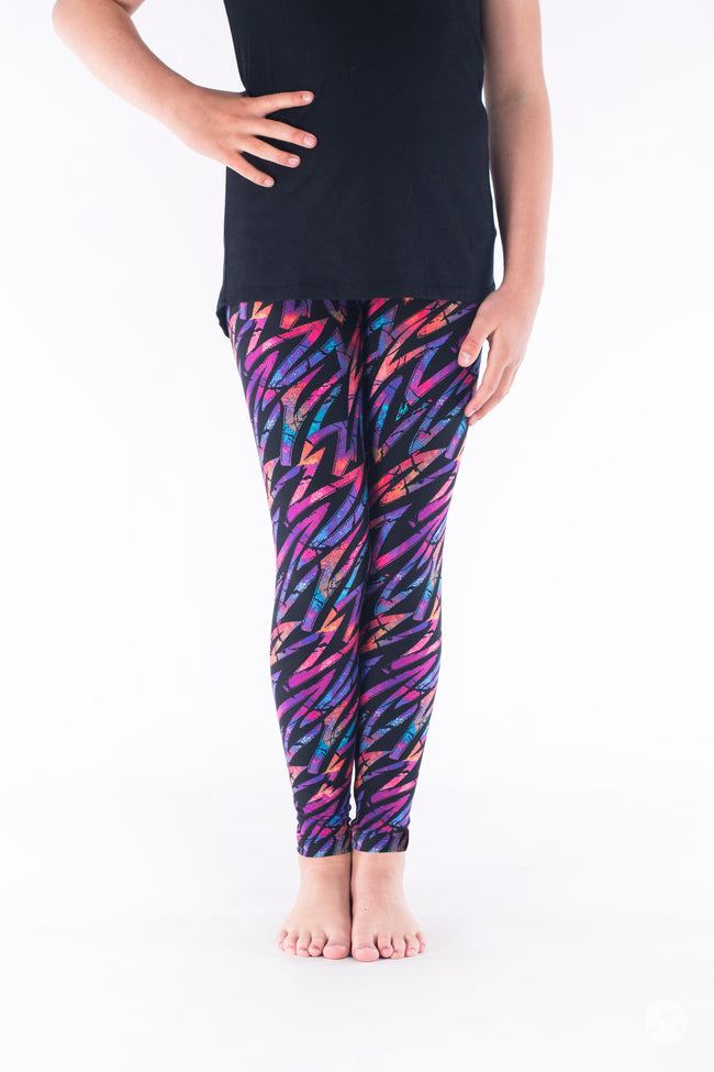 Electric Slide Kids leggings - SweetLegs