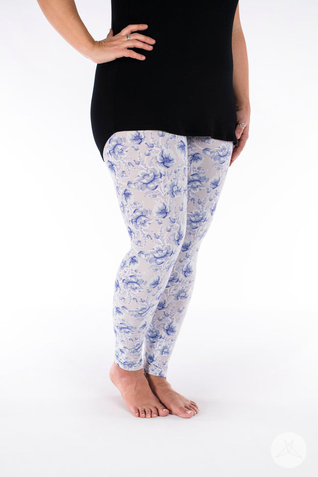 Darling Blue leggings - SweetLegs