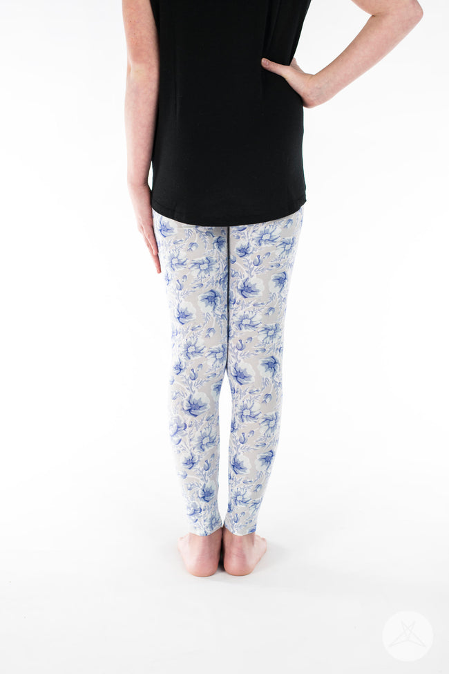 Darling Blue Kids leggings - SweetLegs