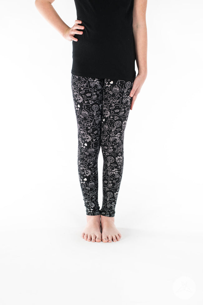 Girl Power Kids leggings - SweetLegs