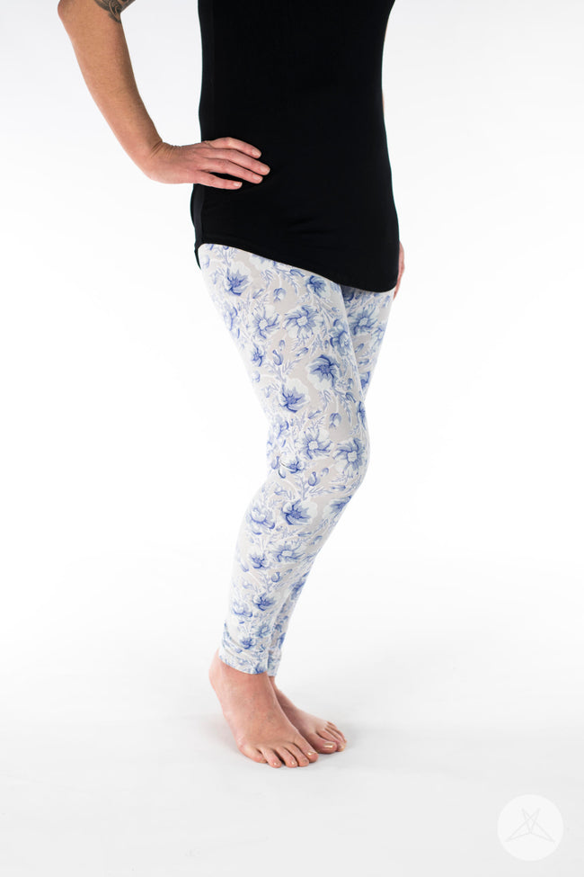 Darling Blue Petite leggings - SweetLegs