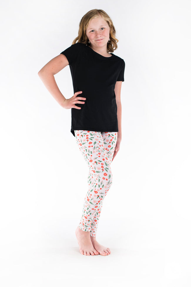 Flower Child Kids leggings - SweetLegs