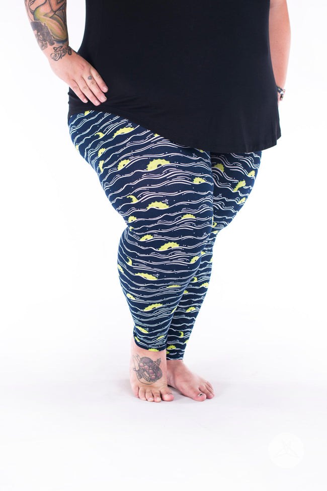 Into The Deep Plus2 leggings - SweetLegs