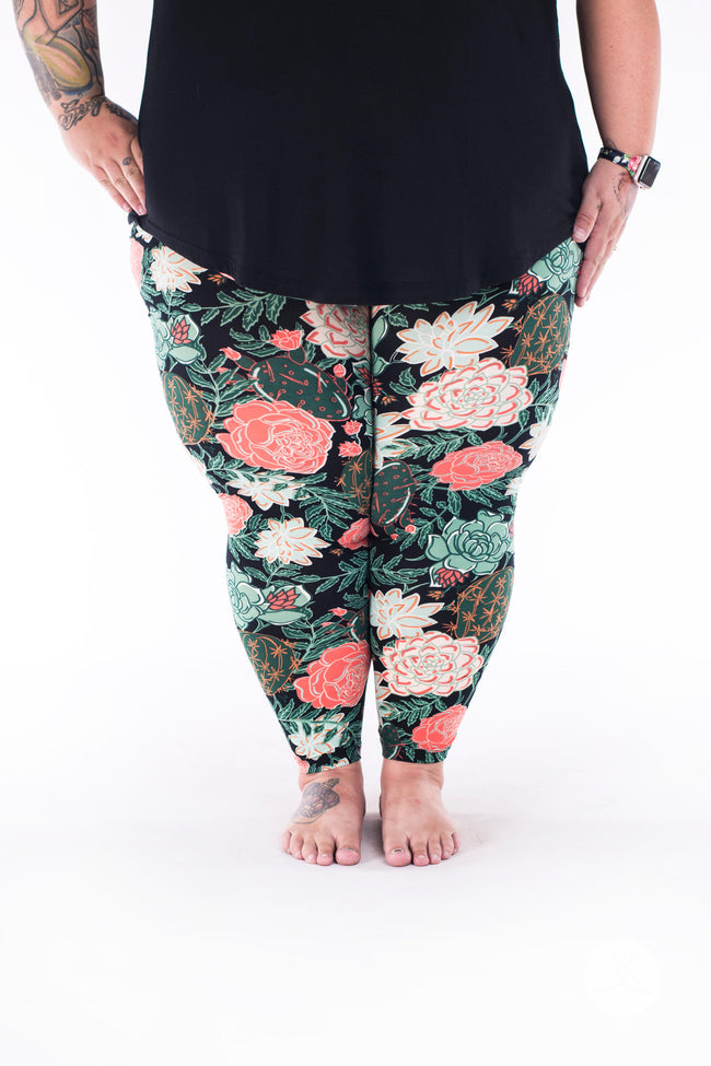 Desert Daydream Plus2 leggings - SweetLegs