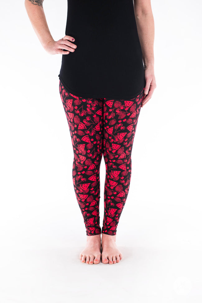 Fruit Punch  Petite leggings - SweetLegs