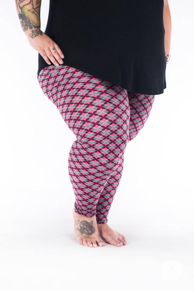 Mariposa Plus2 leggings - SweetLegs