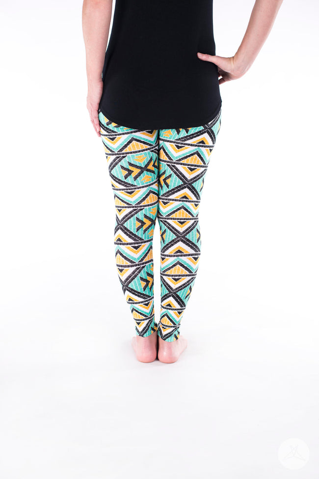 Phoenix Nights Petite leggings - SweetLegs