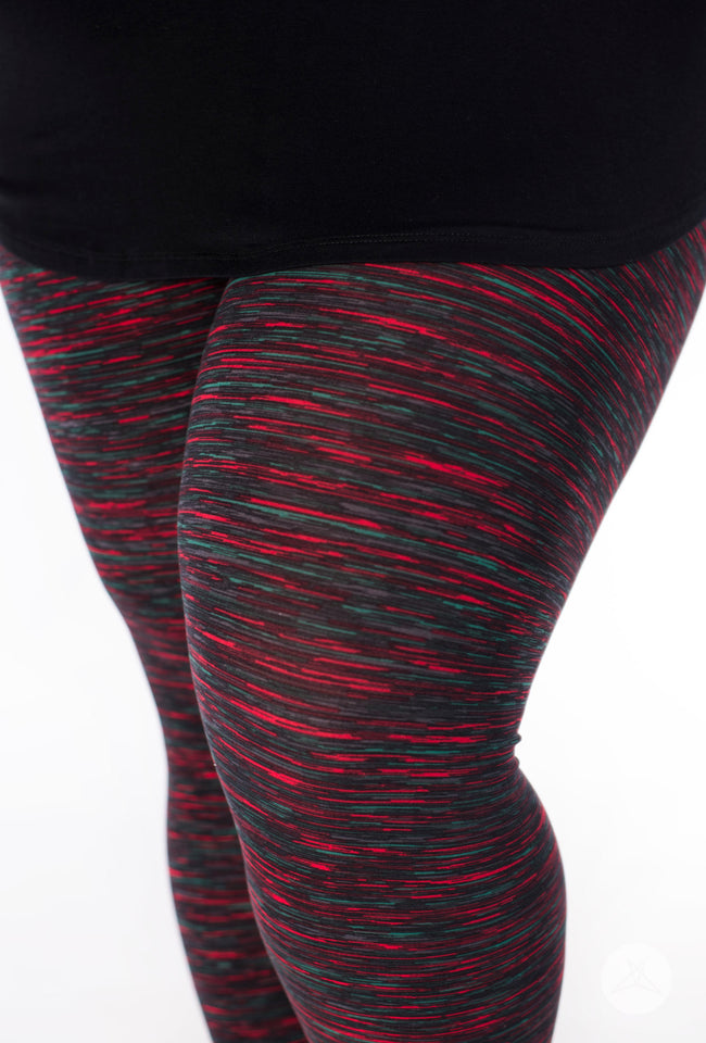 Fireside Opal Plus leggings - SweetLegs