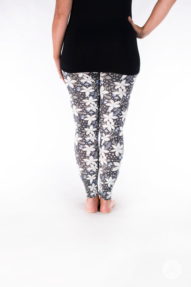 Polar Lily leggings - SweetLegs