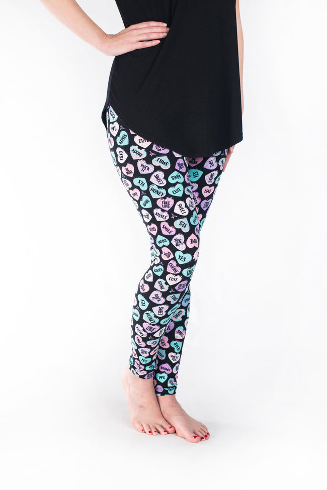 Sweetheart Petite leggings - SweetLegs