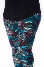 Bon Voyage leggings - SweetLegs