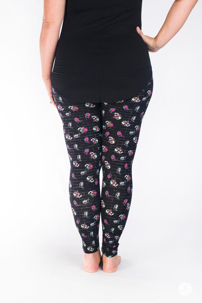 Stay Chill leggings - SweetLegs