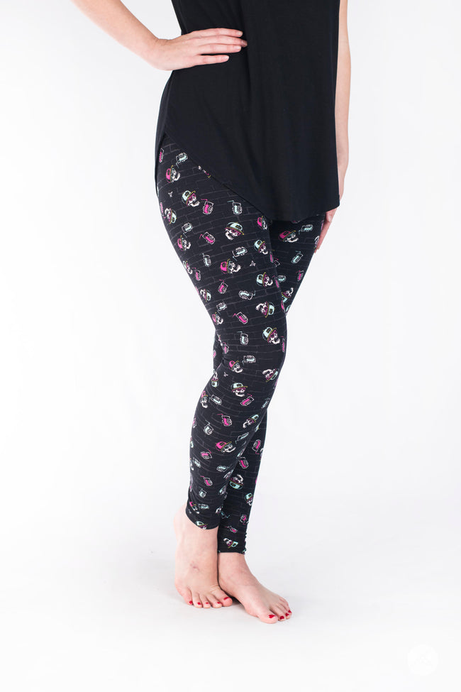 Stay Chill Petite leggings - SweetLegs