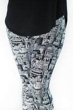 Downtown Petite leggings - SweetLegs