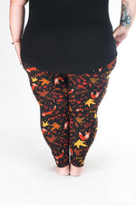 Pumpkin Spice Plus2 leggings - SweetLegs