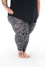 Black Mamba Plus2 leggings - SweetLegs