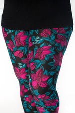 Winter Petals leggings - SweetLegs
