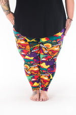 Prehistoric Punch Plus2 leggings - SweetLegs
