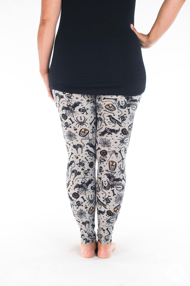 Spooktacular leggings - SweetLegs