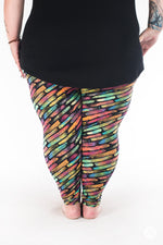 True Colours Plus2 leggings - SweetLegs