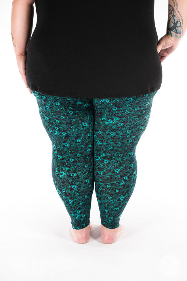 Flaunt It Plus2 leggings - SweetLegs