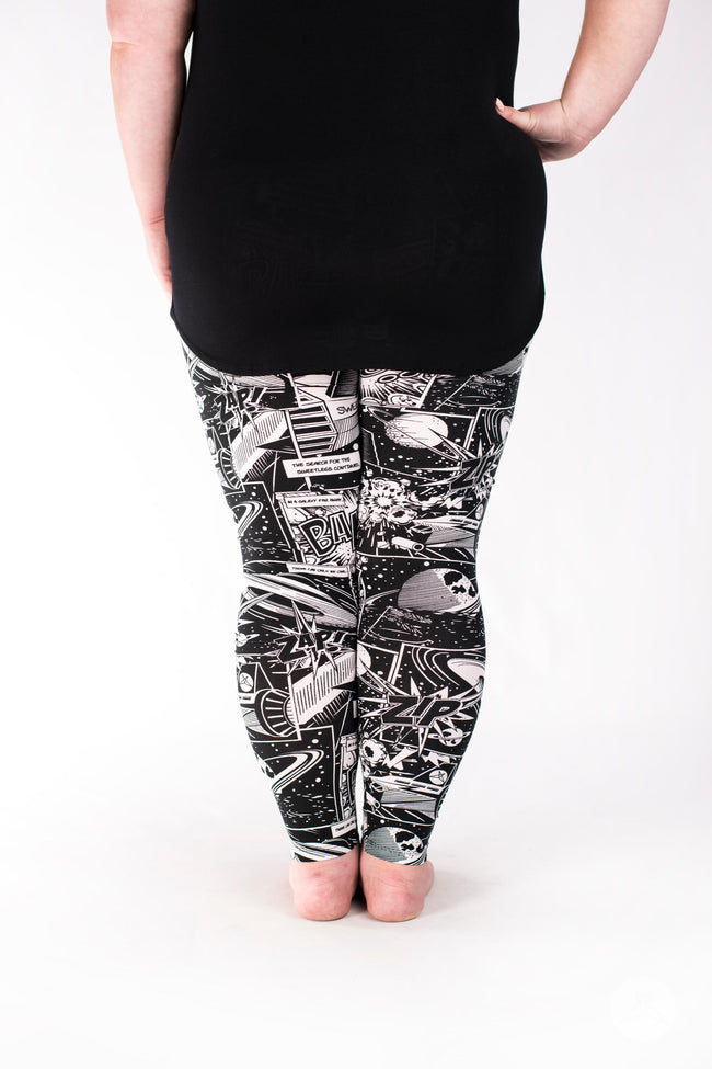 Cosmic Comic Plus leggings - SweetLegs