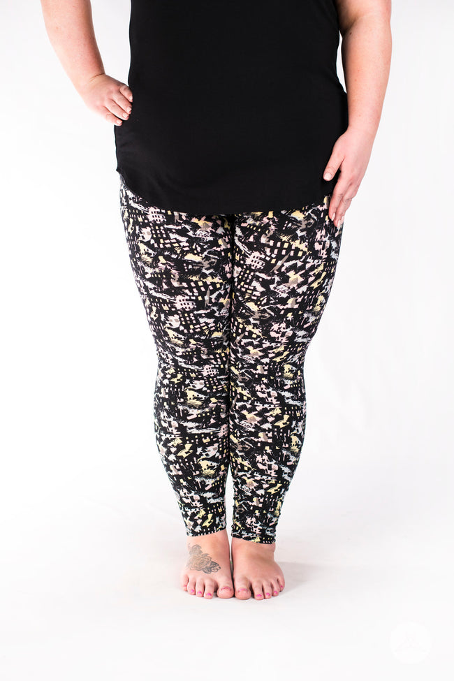Wannabe Plus leggings - SweetLegs