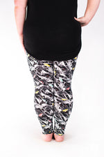 California Dreamin' Plus leggings - SweetLegs