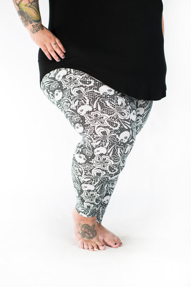 Cordelia Plus2 leggings - SweetLegs