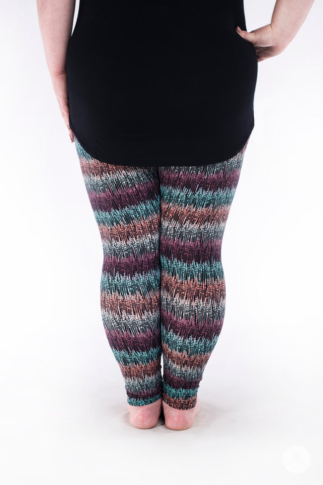 Field of Dreams Plus leggings - SweetLegs