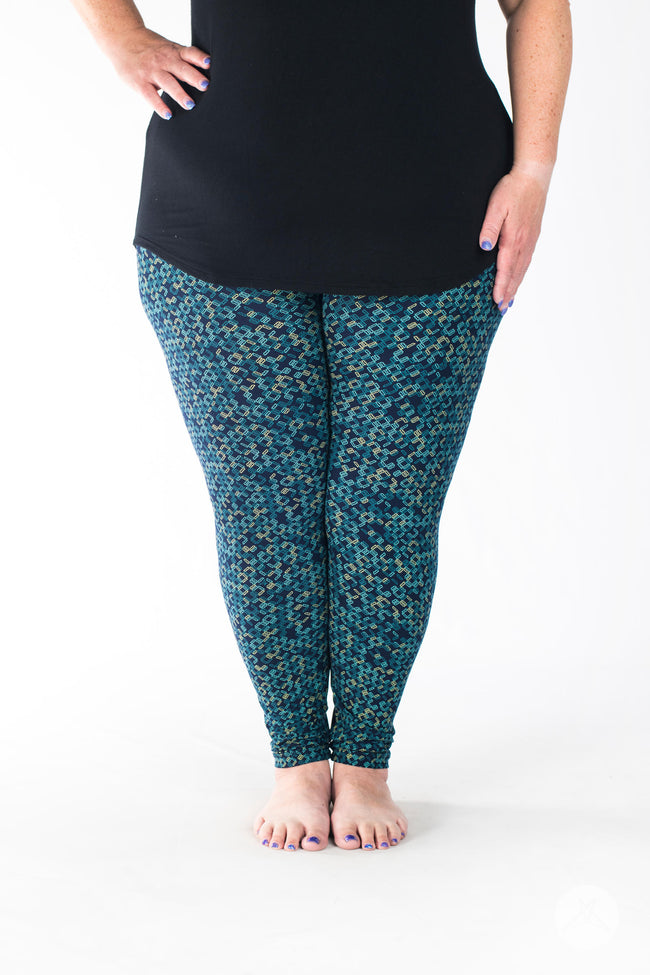 Missing Link Plus leggings - SweetLegs