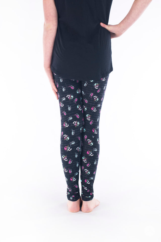 Stay Chill Kids leggings - SweetLegs
