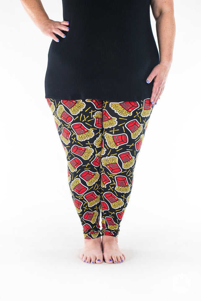 Fry-Day Plus leggings - SweetLegs