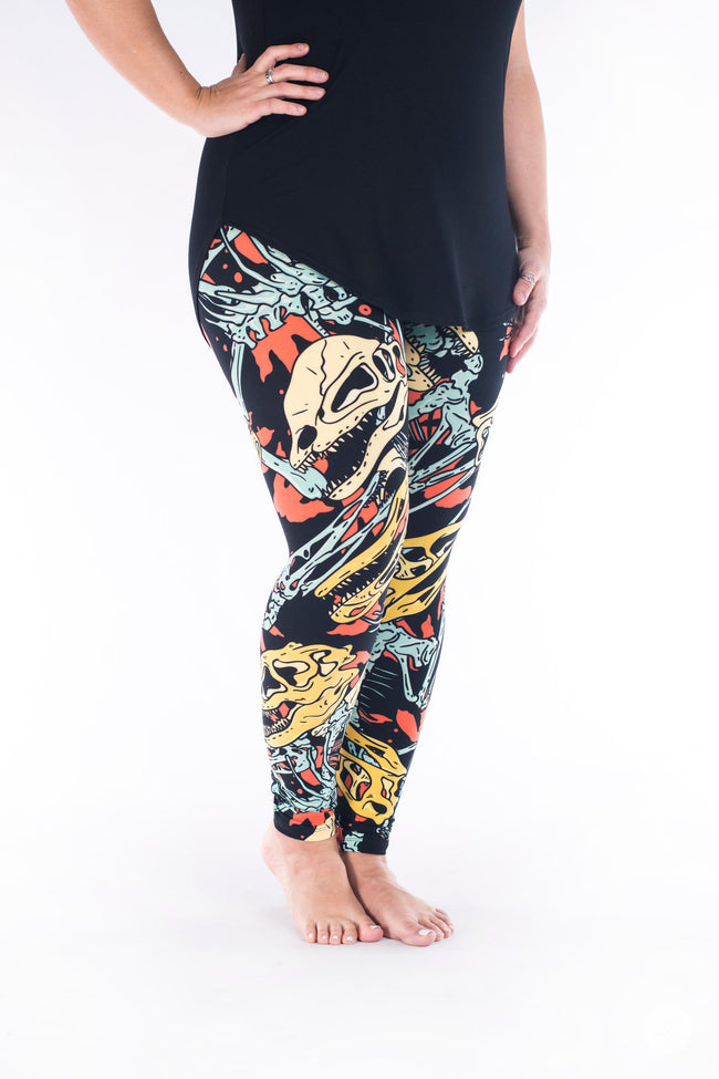 Fossil Feels leggings - SweetLegs