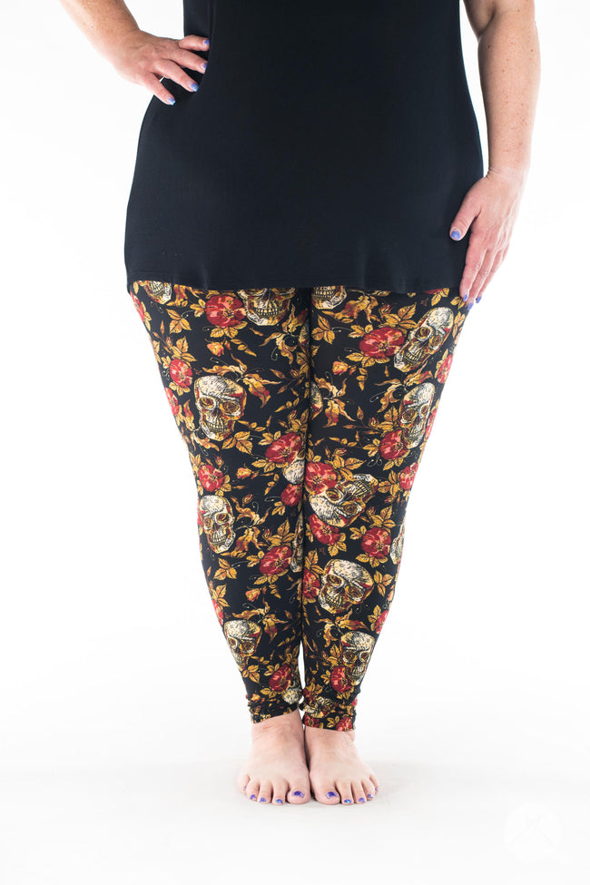 Supernatural Plus leggings - SweetLegs
