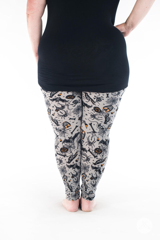 Spooktacular Plus leggings - SweetLegs