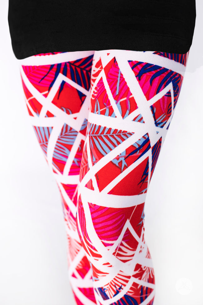 Paradise Kids leggings - SweetLegs