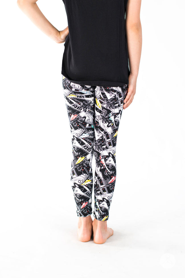 California Dreamin' Kids leggings - SweetLegs