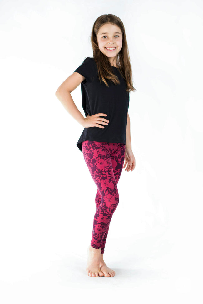 Summer Blush Kids leggings - SweetLegs