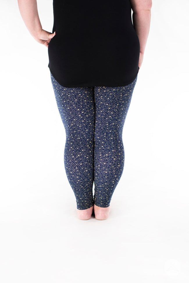 Let It Glow Plus leggings - SweetLegs