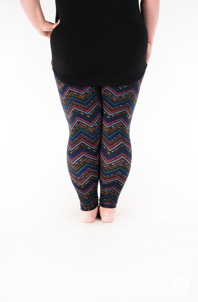 Fantasia Plus leggings - SweetLegs